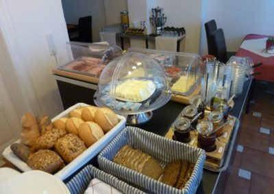 Frühstück-Bufett