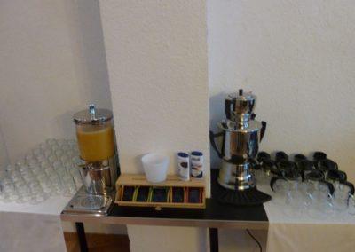 Frühstück-Kaffee-Tee
