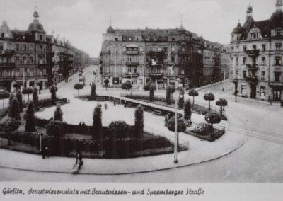 Brautwiesenplatz (square) 1940
