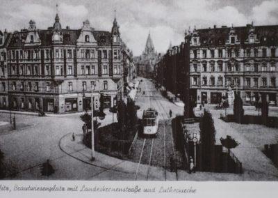 Brautwiesenplatz ca. 1940