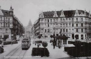 Brautwiesenplatz (square) 1950
