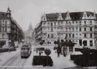 Brautwiesenplatz ca. 1950